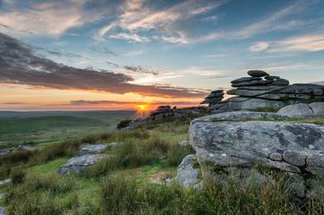 Beautiful Sunset on Bodmin Moor