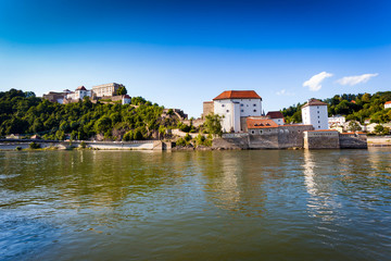 View of Passau, Bavaria, Germany