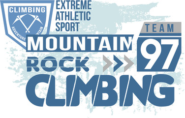 Mountain Rock Climbing