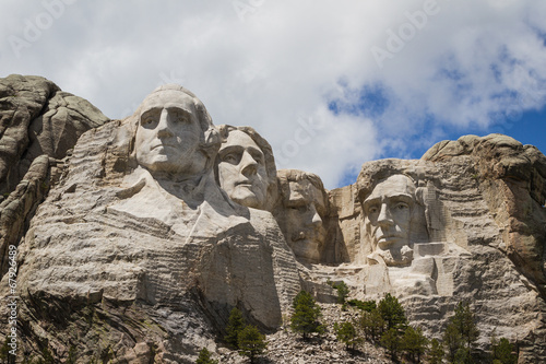 Deurstickers Historisch mon. Mount Rushmore national monument, South Dakota