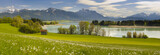 Fototapety Panorama Landschaft in Bayern