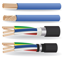 electric copper cables