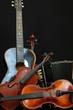 violin guitar and accordion still life 3 - 67927800