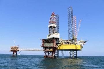 production platform for oil and gas