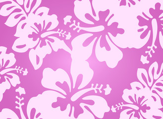 Light pink floral pattern - design element