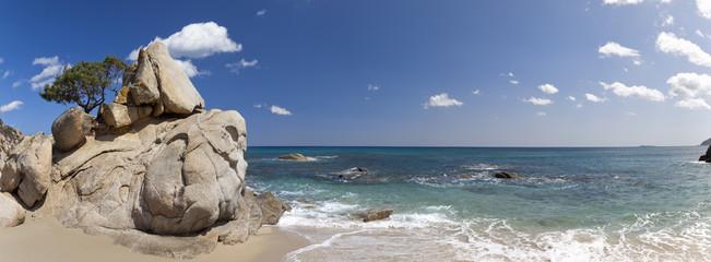 Santa Giusta beach, near Villasimius.Sardinia
