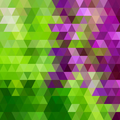 Vector geometric pattern with triangles