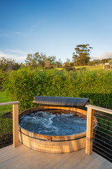 Hot tub jacuzzi