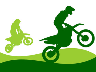 Illustration - Motocross