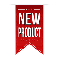 New product banner design