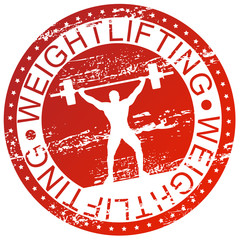Sports stamp - Weightlifting