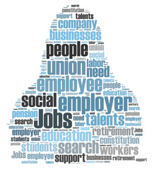 jobs word cloud