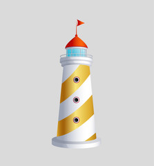 lighthouse vector art eps icon sybol download