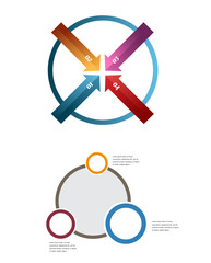 infographic vector pack template