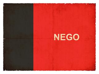 Grunge Flagge Paraiba (Brasilien)