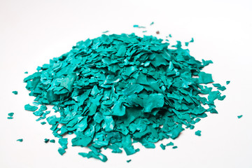 The Texture of Spirulina Sun Dried Flakes Product