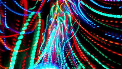 Colorful lines loop background