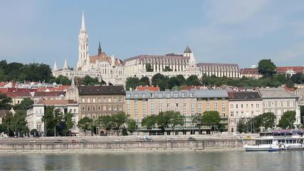 Budapest Danube riverside Fisherman bastion