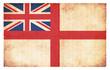 Grunge-Flagge Großbritannien (See-Kriegsflagge)