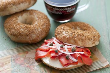 ベーグルサンド ベーグル サンドイッチ