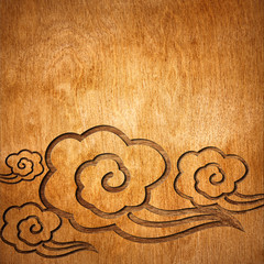 Oriental wooden texture background