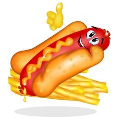hot dog e patatine ok