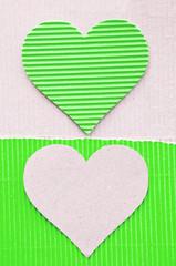 green corrugated