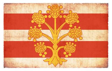 Grunge Flagge Westmorland (Großbritannien)