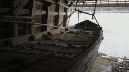 舟屋内の風景4
