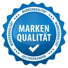 Markenqualität - blau