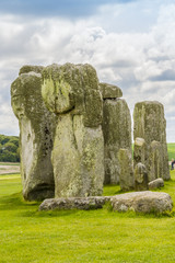 Ancient prehistoric stone monument Stonehenge near Salisbury, UK