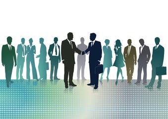 Geschäftliche Zusammenkunft