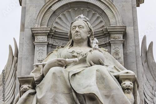 Queen Victoria Memorial (1911) near Buckingham Palace, London UK - 67944470