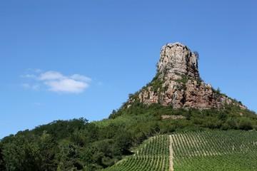 Roche de Solutré, Burgundy