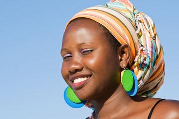 Smart African Woman