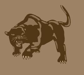 Vintage panther