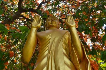 Estatua de Buda en Luang Prabang, Laos