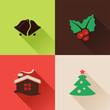 Christmas flat icons Set II