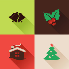 Christmas flat icons Set II