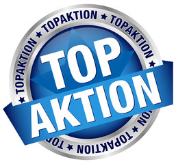 "Button Banner ""Topaktion"" blau"
