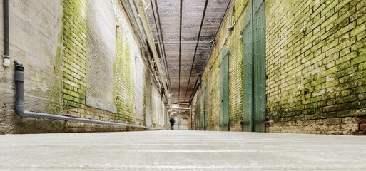 Alcatraz Underground tunnel, San Francisco, California
