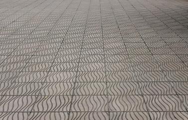 texture of cobblestone road