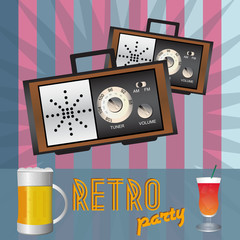 Retro party - back in time