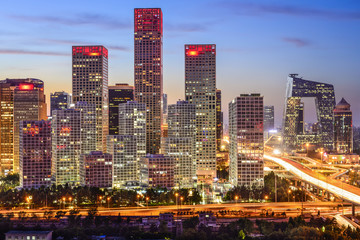 Beijing, China Central Business District
