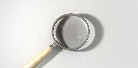 Magnifying Glass Textured Surface