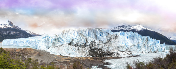 Perito Moreno Glacier in the Los Glaciares National Park, Argent
