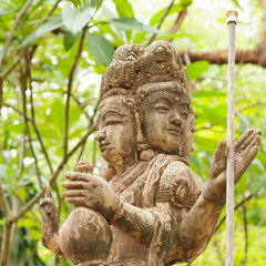 Statue of traditional god