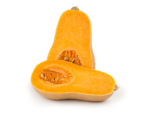 bottle shaped butternut pumpkin