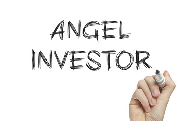 Hand writing angel investor
