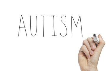 Hand writing autism